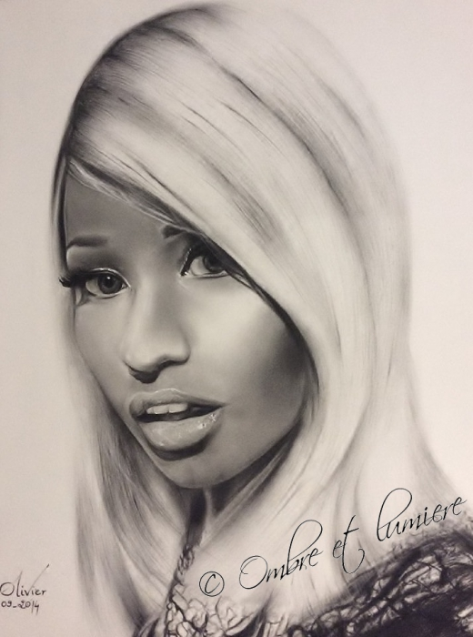 Nicki Minaj por Draw68